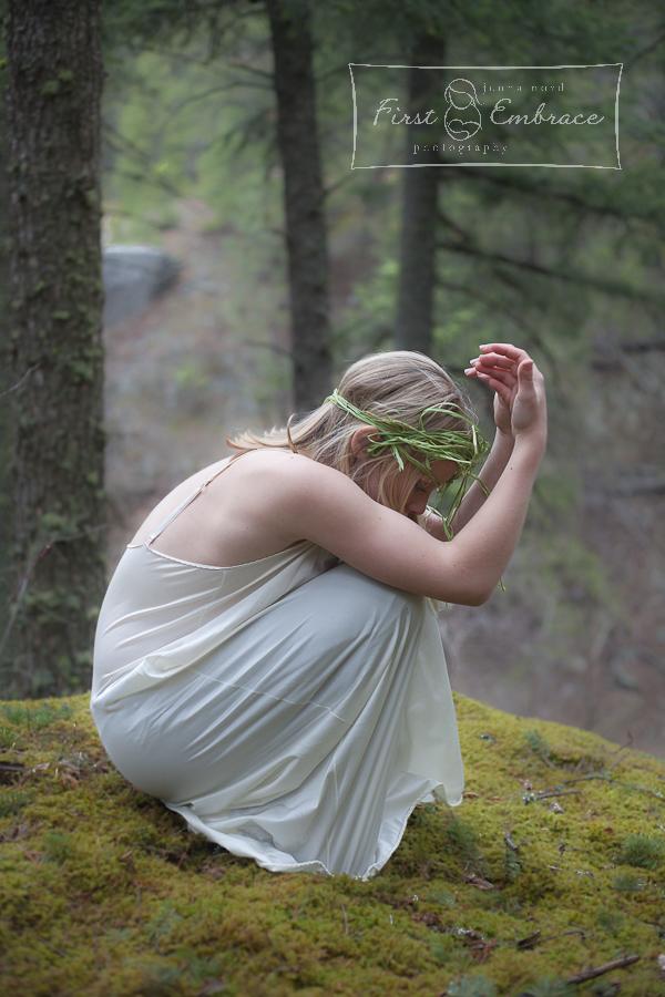 Ostara Goddess of Spring; concept; Rocky Mountain Spring