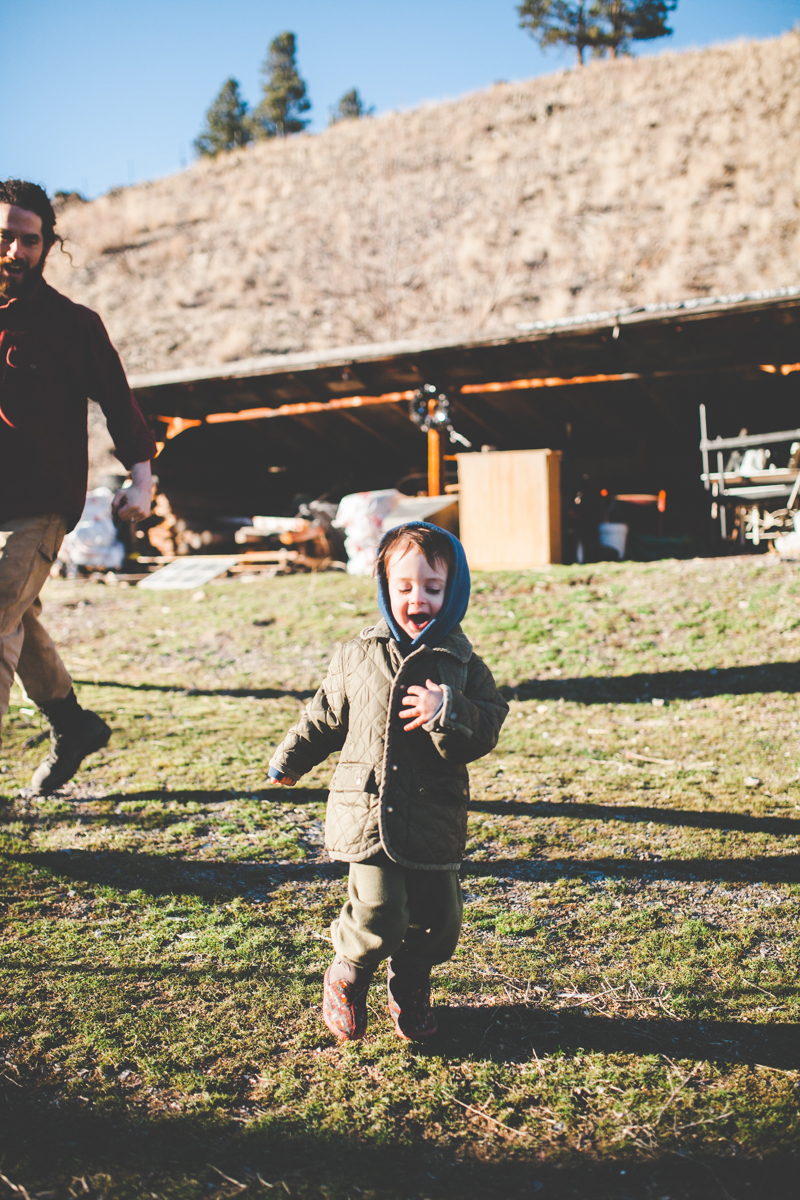 Maternity Love Family Father Son Mother Outdoors Together Missoula Photographer
